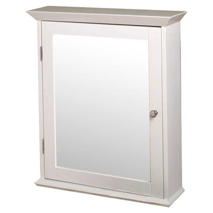 "Zenith Bathroom Cabinets: Zenith 22"" X 25"" Surface Mount Medicine Cabinet & Reviews"
