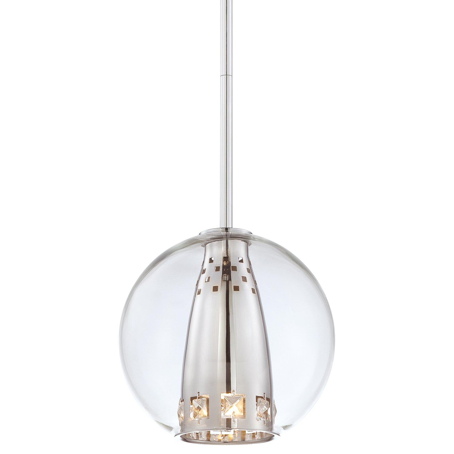 george kovacs bling bang 1 light globe mini pendant. Black Bedroom Furniture Sets. Home Design Ideas