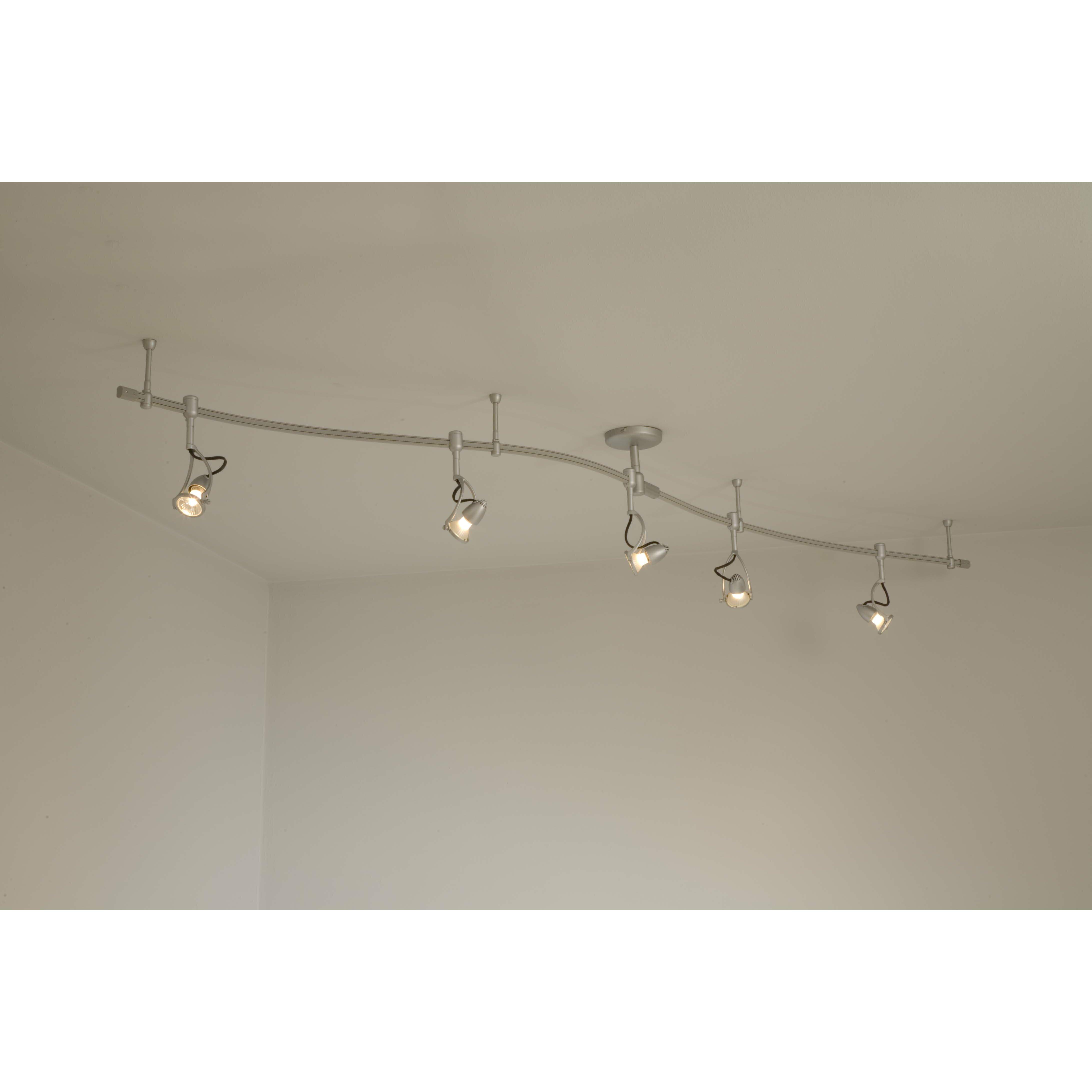 George Kovacs Lightrail 5 Light Full Track Lighting Kit Reviews Wayfair