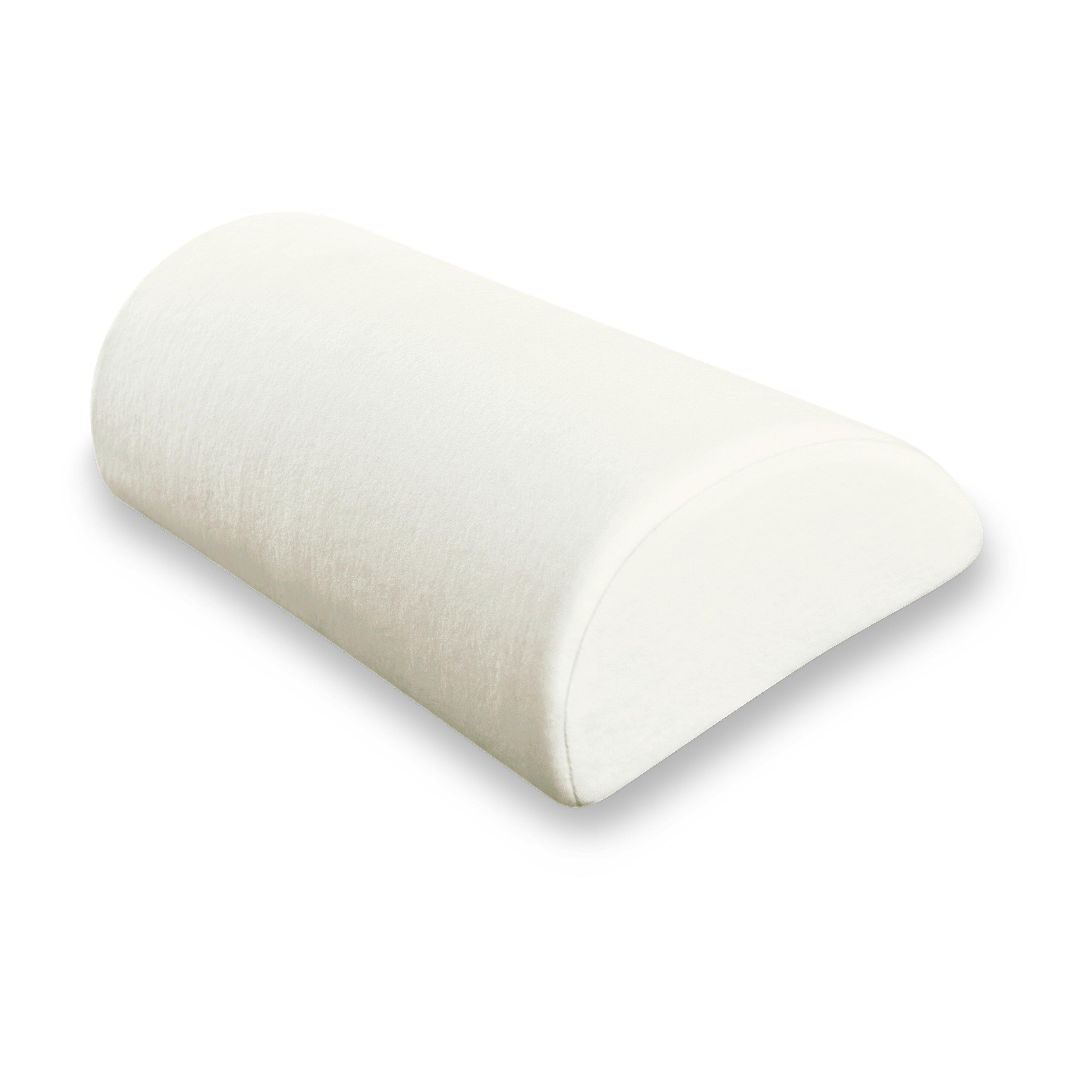 Deluxe comfort half moon pillow reviews wayfair for Bed pillows reviews