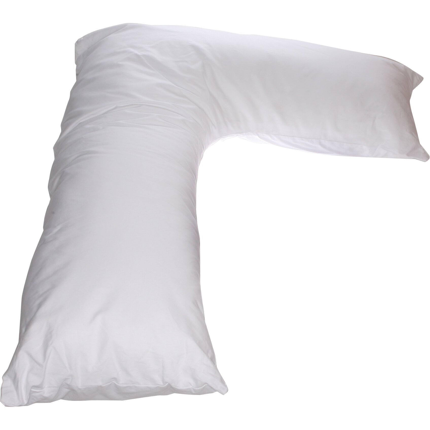 Deluxe comfort sleeper body cotton bed rest pillow for Bed pillows reviews