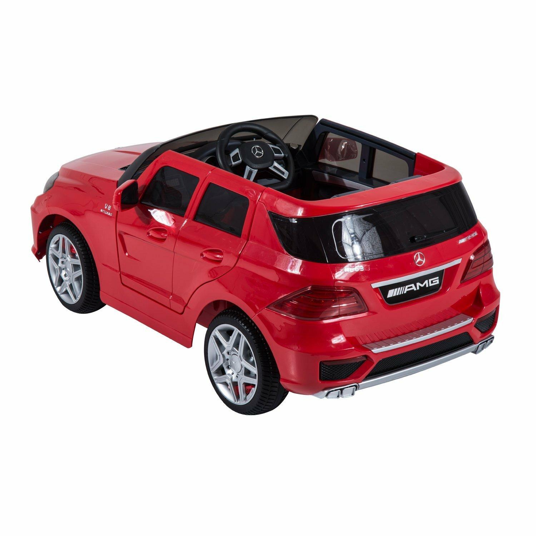 Aosom kids mercedes benz ml63 12v battery powered car for Kids mercedes benz car