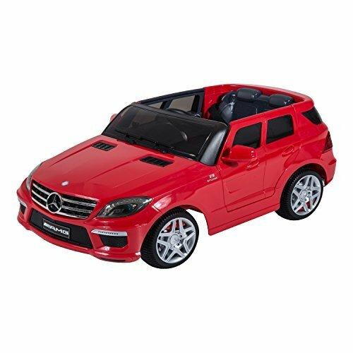 Aosom kids mercedes benz ml63 12v battery powered car for Car battery for mercedes benz