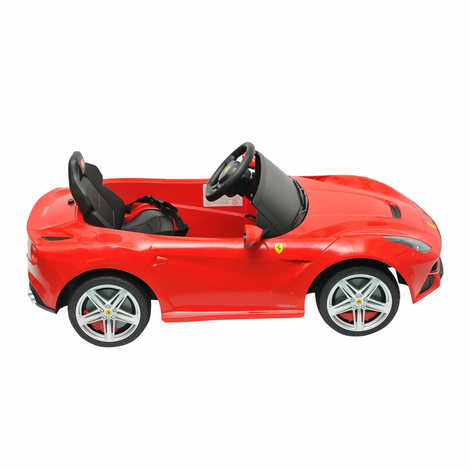 Aosom Kids Ferrari F12 6v Battery Powered Car Wayfair