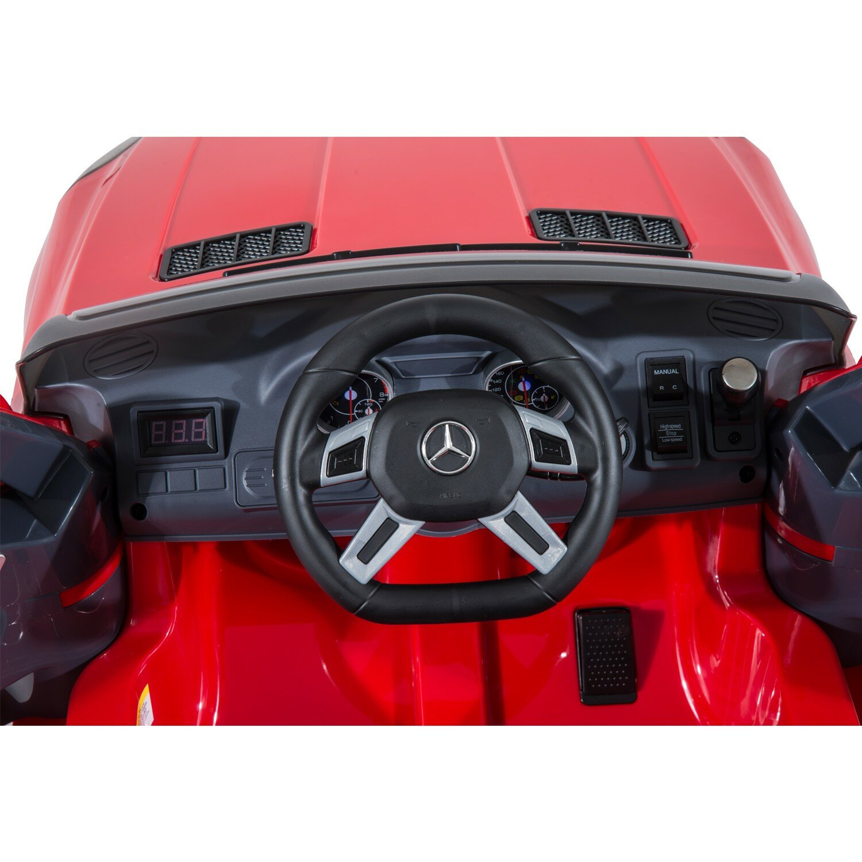 Aosom Kids Mercedes Benz Ml63 12v Battery Powered Car