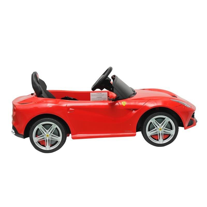Aosom Kids Ferrari F12 6v Battery Powered Car Wayfair