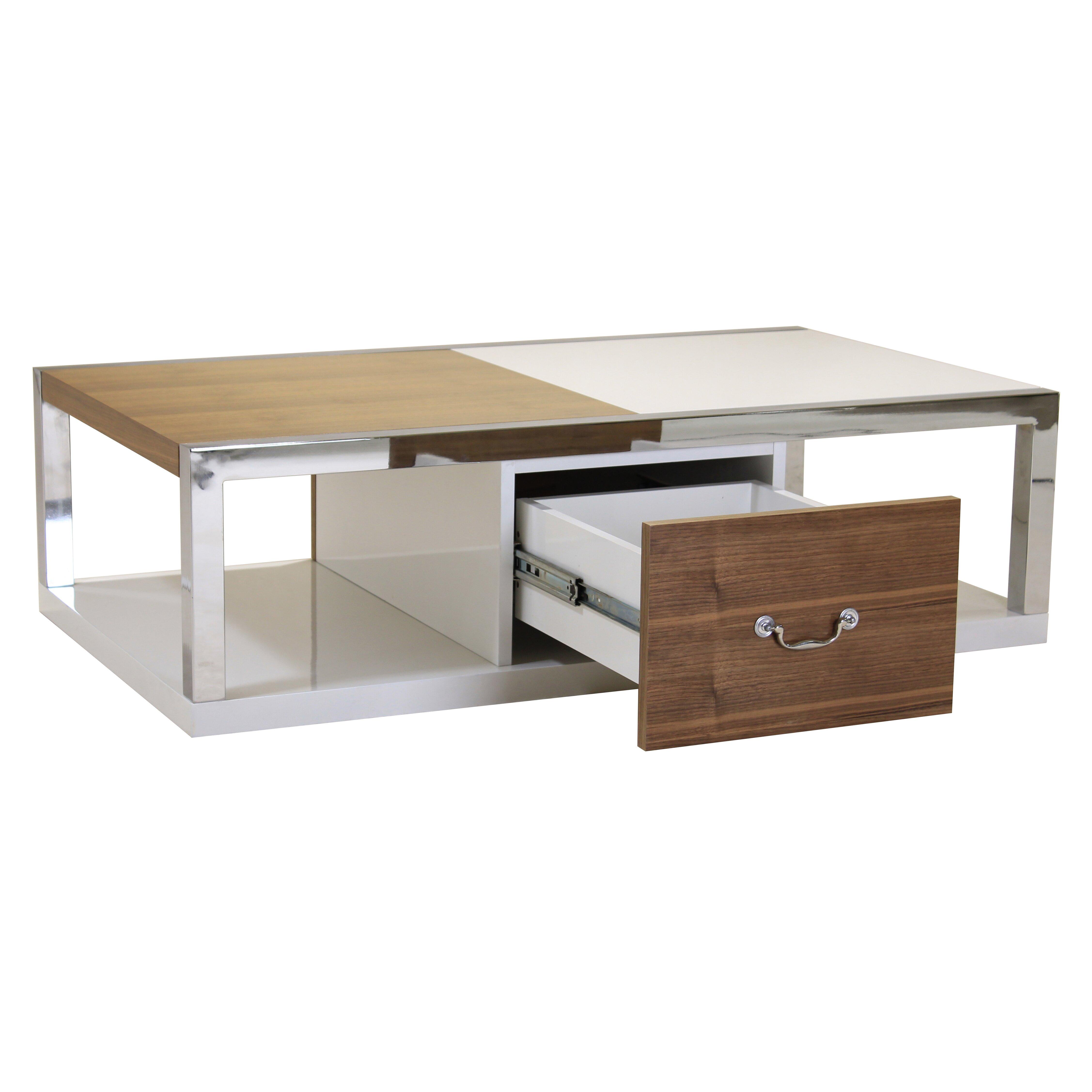 Wayfair Glass Coffee Table Uk: Heartlands Warwick Coffee Table With Magazine Rack
