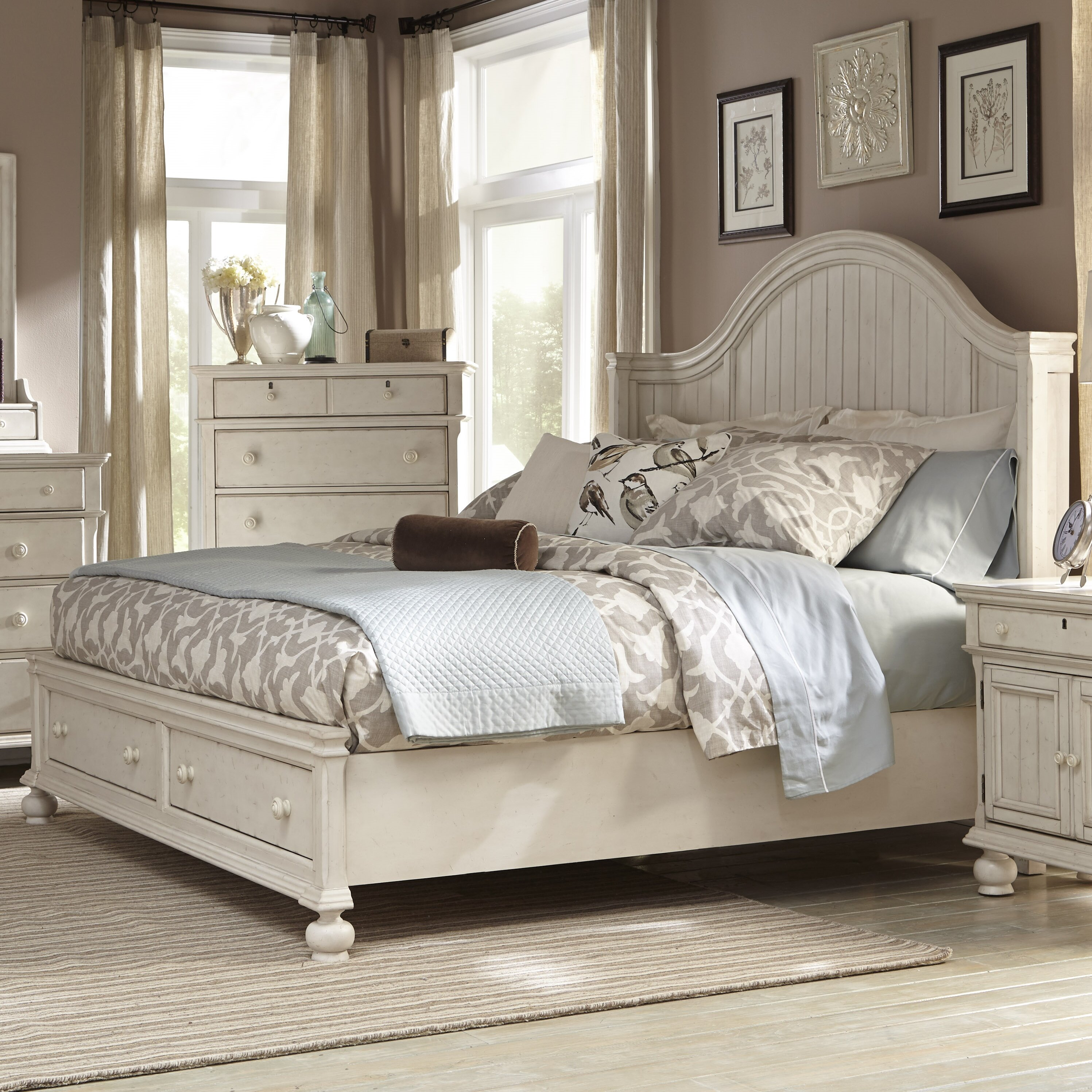 American woodcrafters newport panel bed reviews wayfair for American woodcrafters bedroom furniture