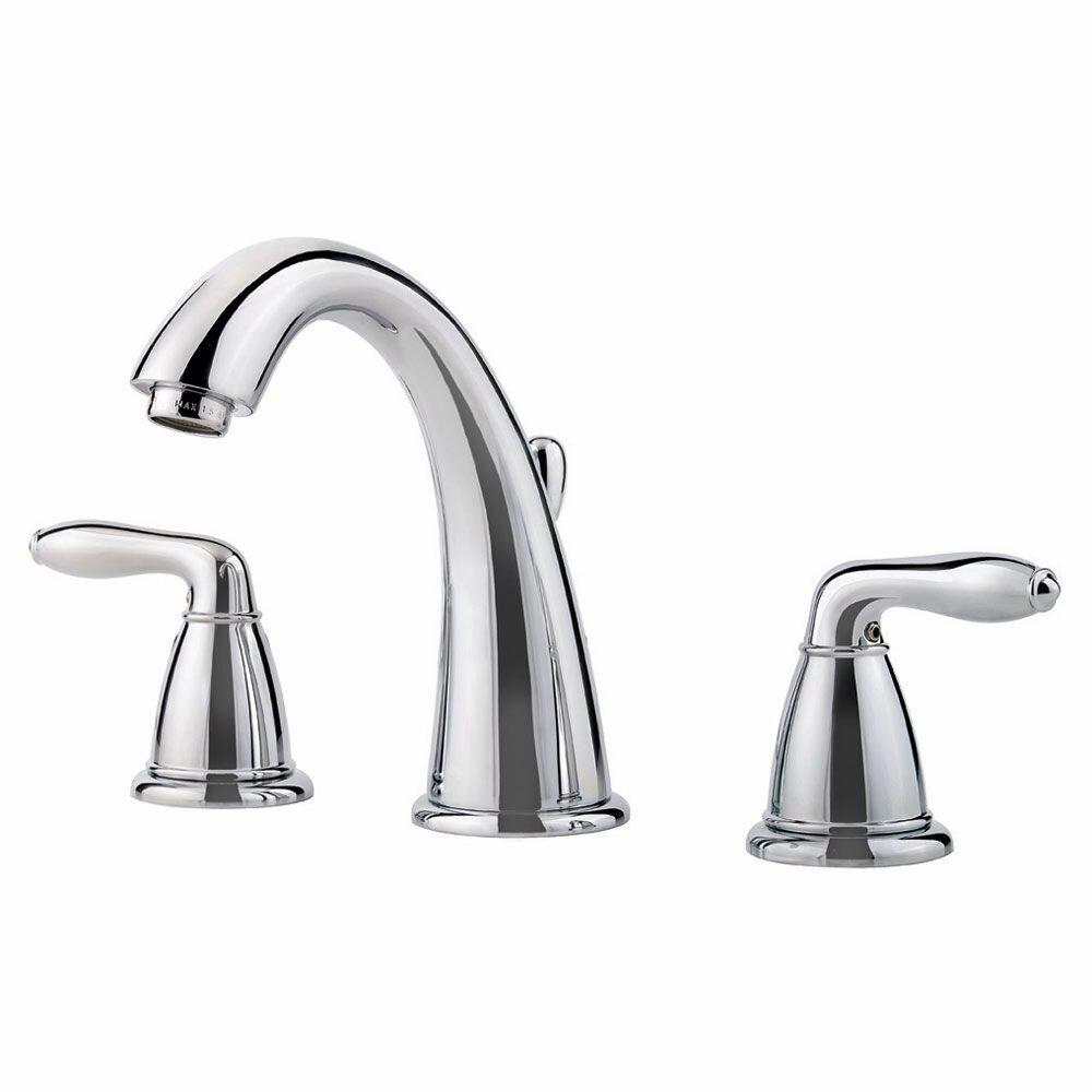 Pfister Serrano Double Handle Widespread Bathroom Faucet & Reviews ...
