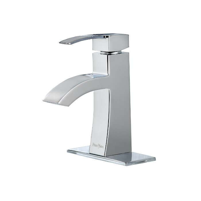 Pfister Bernini Single Handle Single Hole Standard Bathroom Faucet With Drain Assembly Reviews