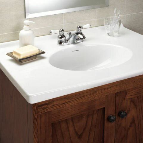 American standard hampton centerset bathroom faucet with for American standard bathroom faucets reviews