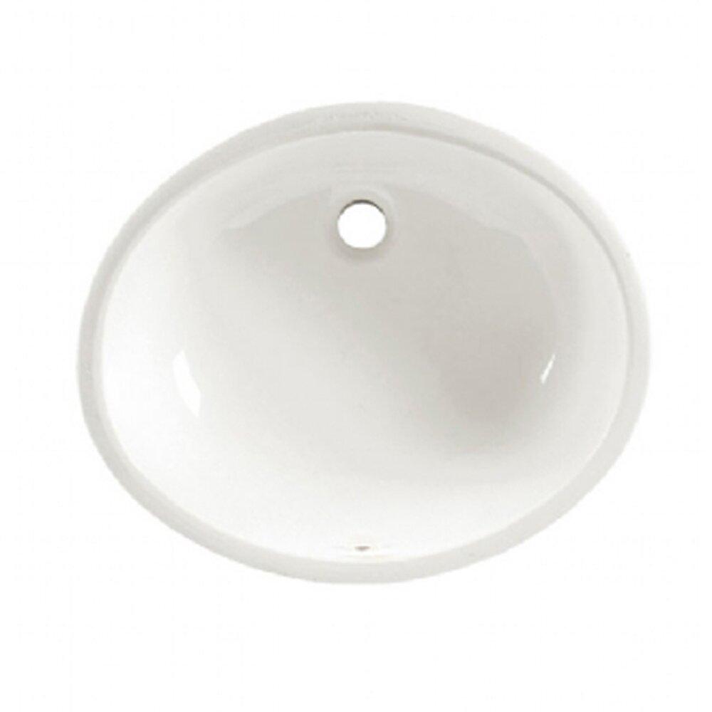 American standard ovalyn x undermount bathroom sink reviews wayfair for American standard undermount bathroom sink