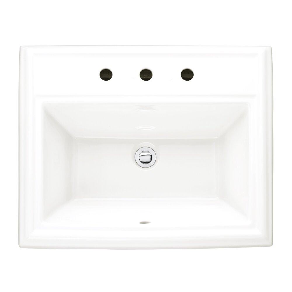 American Standard Town Square Countertop Bathroom Sink Reviews Wayfair