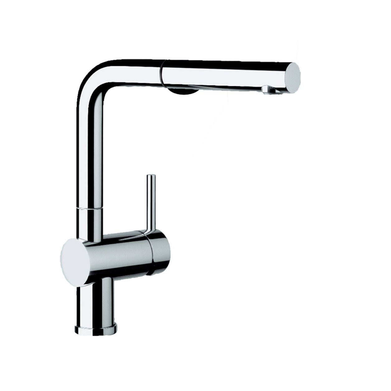 Blanco Kitchen Faucet Reviews : Blanco Linus Single Handle Deck Mounted Kitchen Faucet with Dual Pull ...