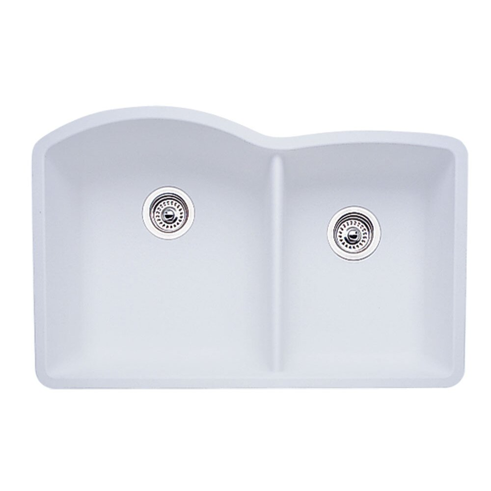 Blanco Diamond 32 X 19 Bowl Undermount Kitchen Sink Reviews Wayfair