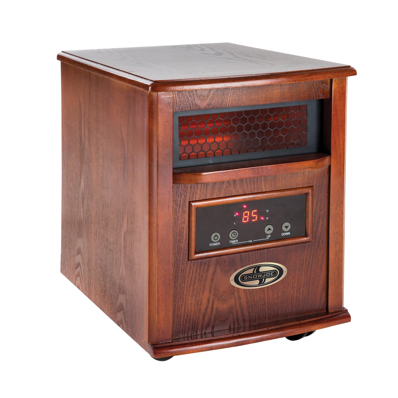 Snow Joe 1500 Watt Quartz Portable Infrared Cabinet Heater