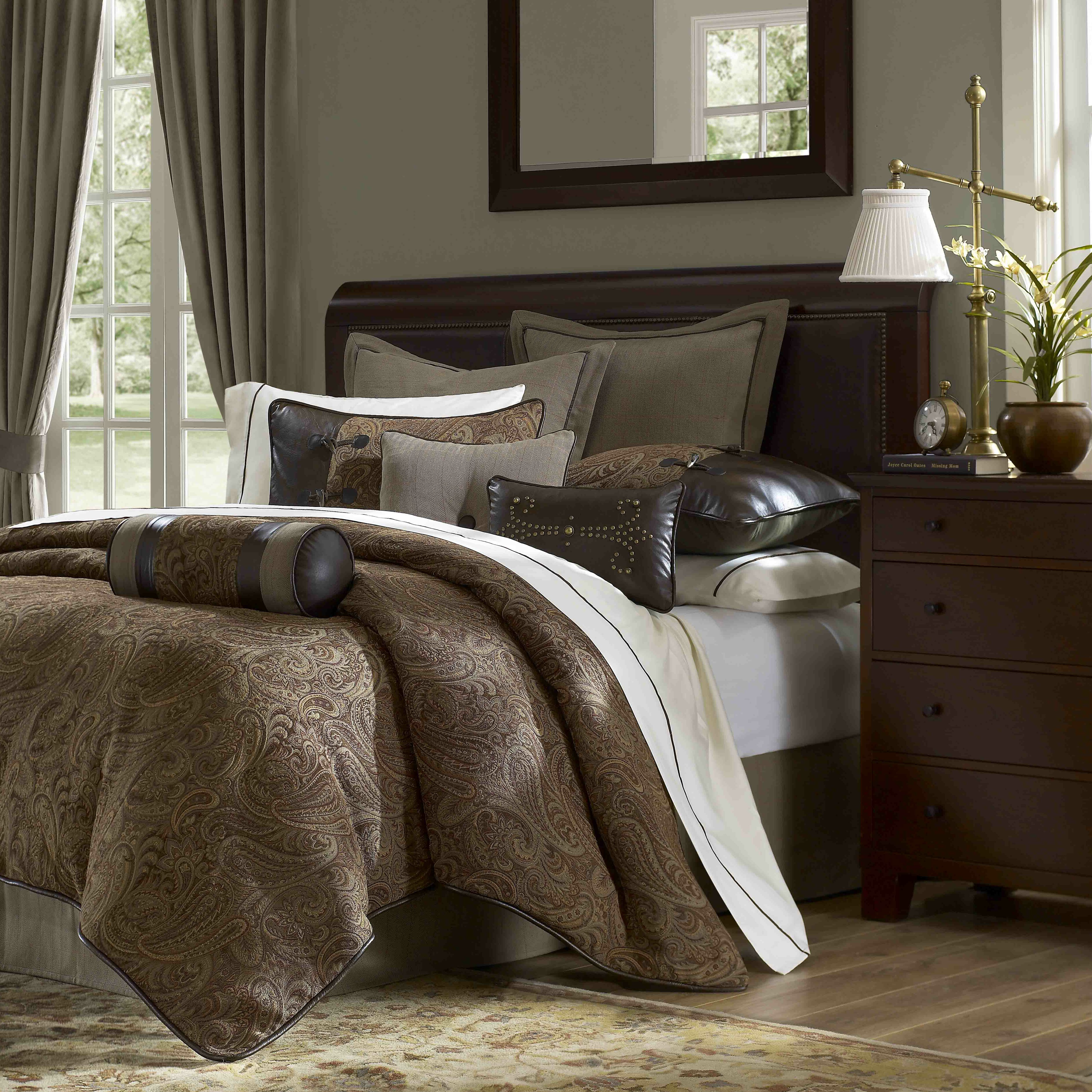 Top 30 Masculine Bedroom Part 2: Hampton Hill Drummond 10 Piece Comforter Set & Reviews