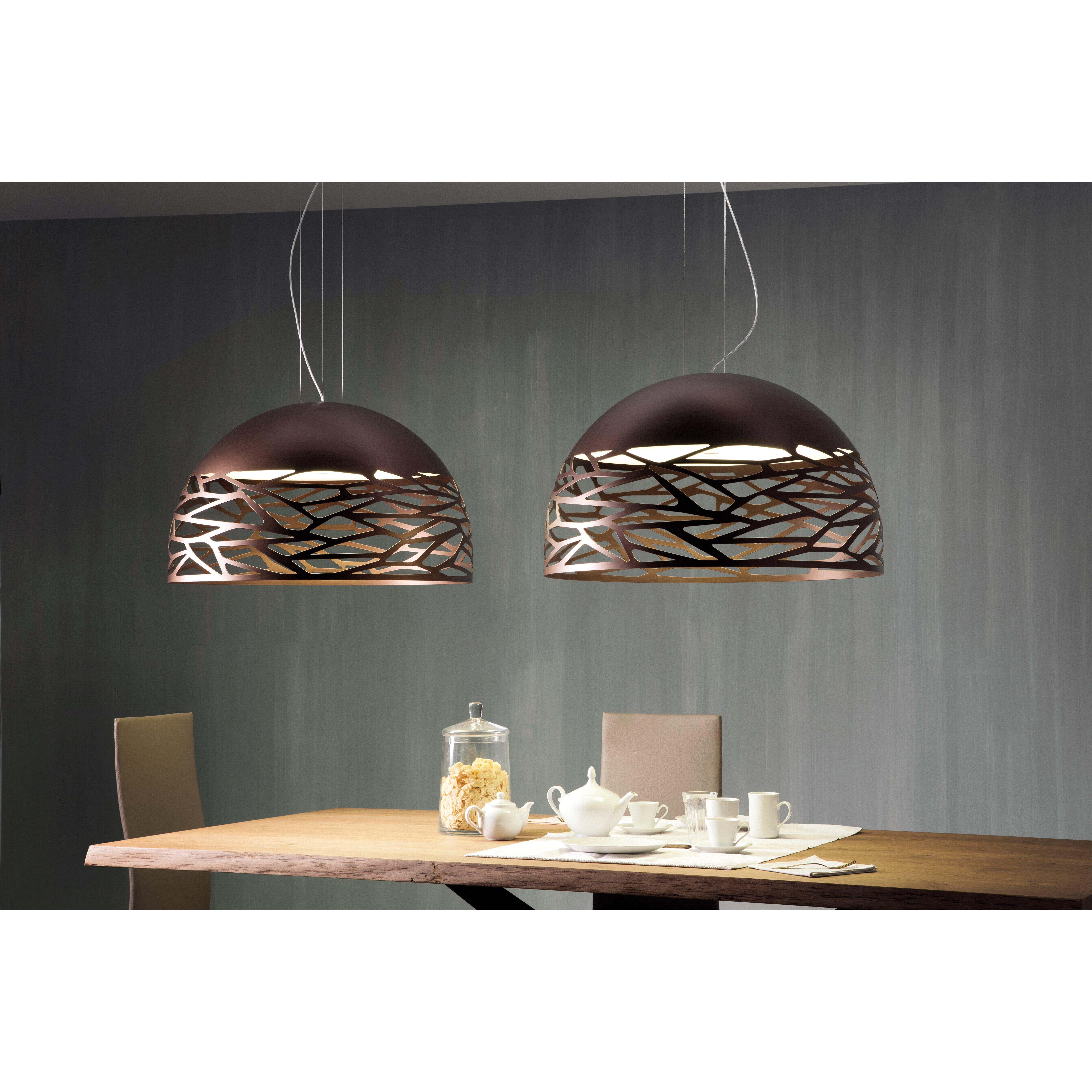 Kelly Pereira Design Studio Kitchen Inspirations: Studio Italia Design Kelly 3 Light Bowl Pendant