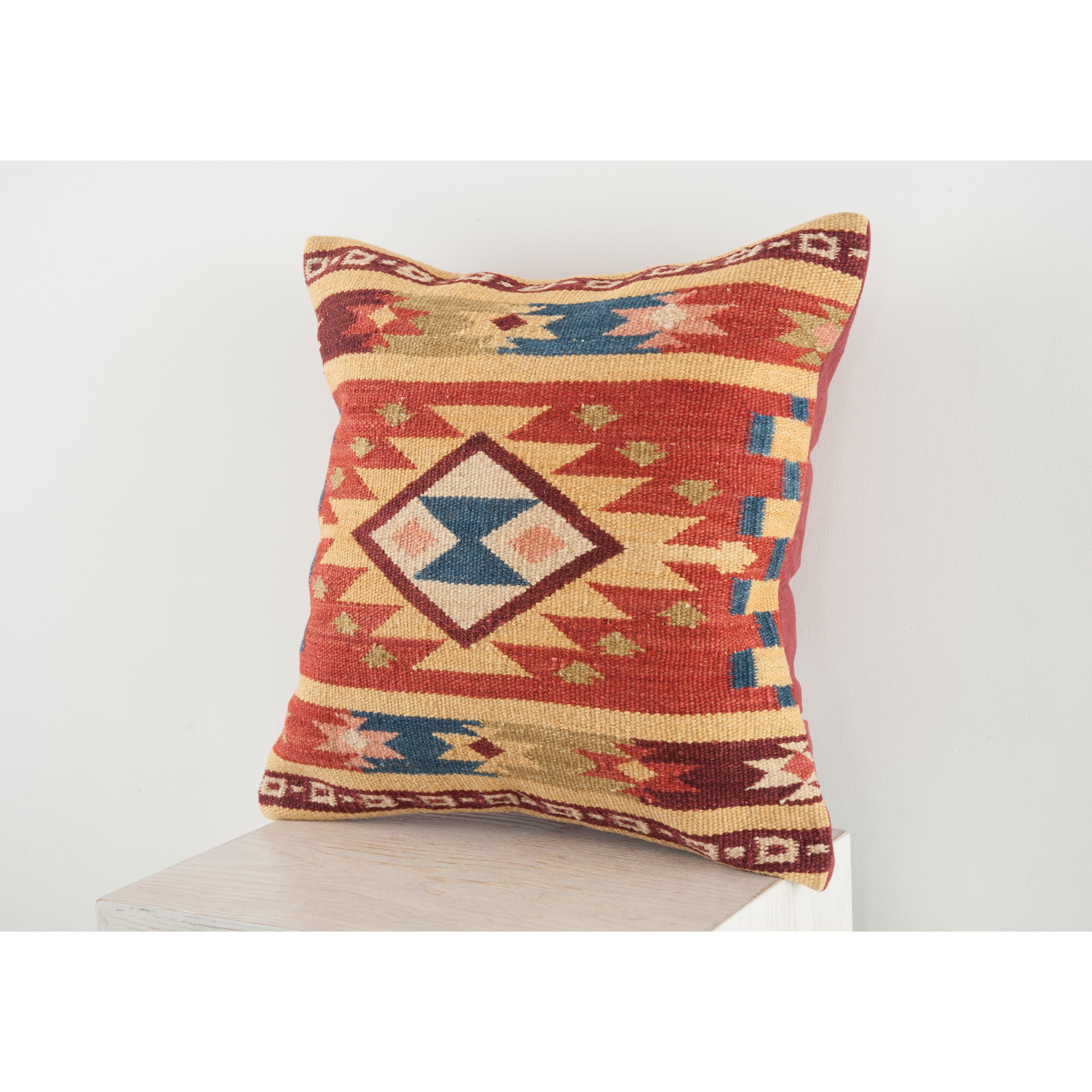 Throw Pillows Meaning : Continental Rug Company Lodge Wool Throw Pillow & Reviews Wayfair
