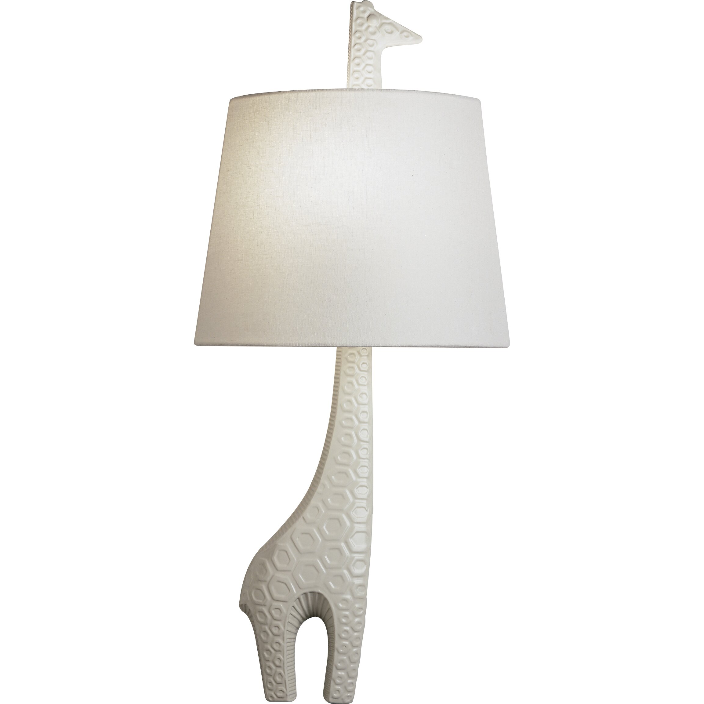 jonathan adler jonathan adler right facing giraffe 1 light wall sconce. Black Bedroom Furniture Sets. Home Design Ideas