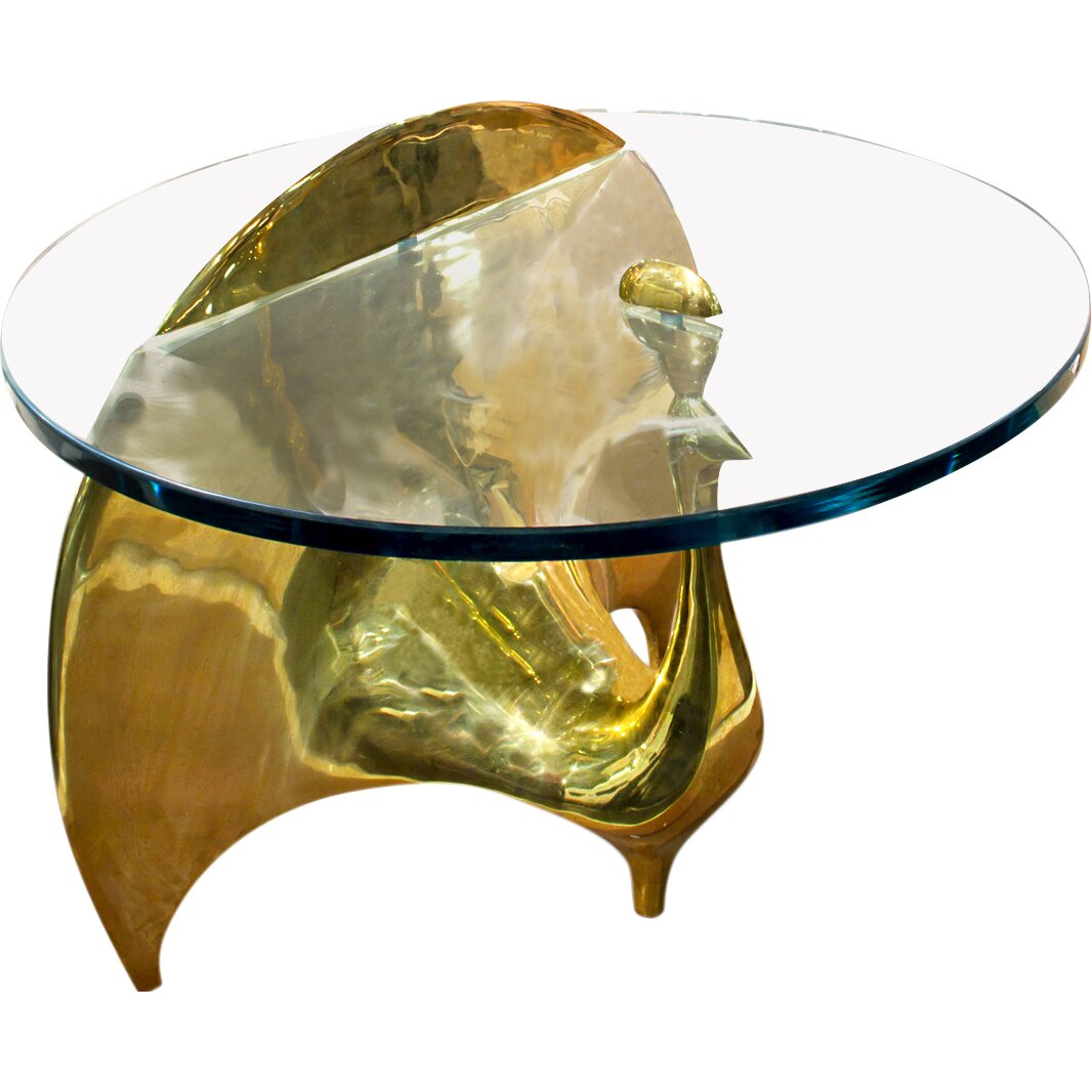 Jonathan Adler Brass Peacock Coffee Table Wayfair