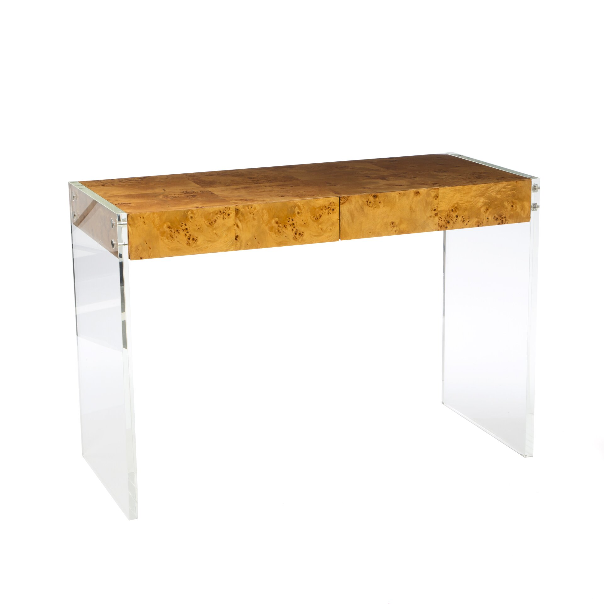 Jonathan Adler Bond Lucite Writing Desk Amp Reviews Wayfair