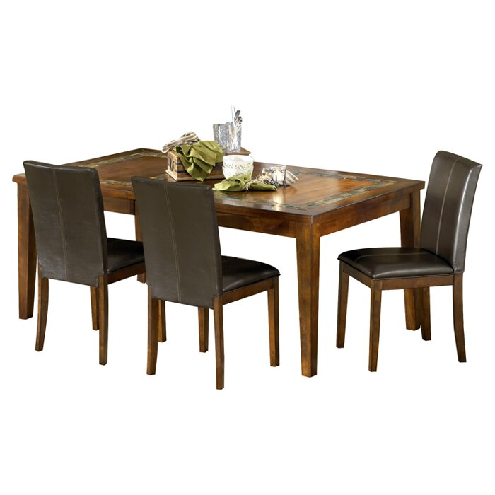 Steve silver furniture davenport dining table wayfair - Silver dining tables ...