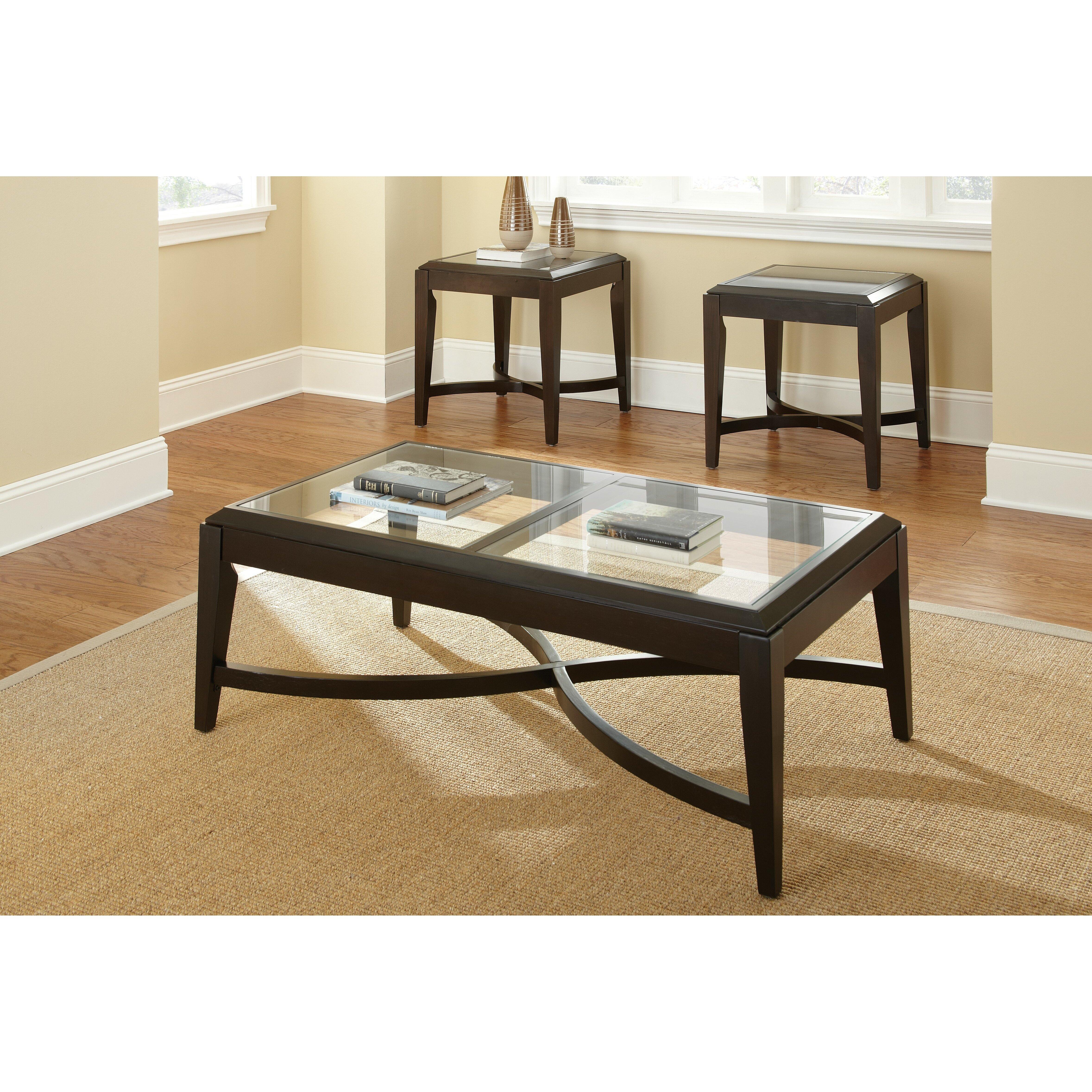 Steve Silver Furniture Mayfield 3 Piece Coffee Table Set Reviews Wayfair