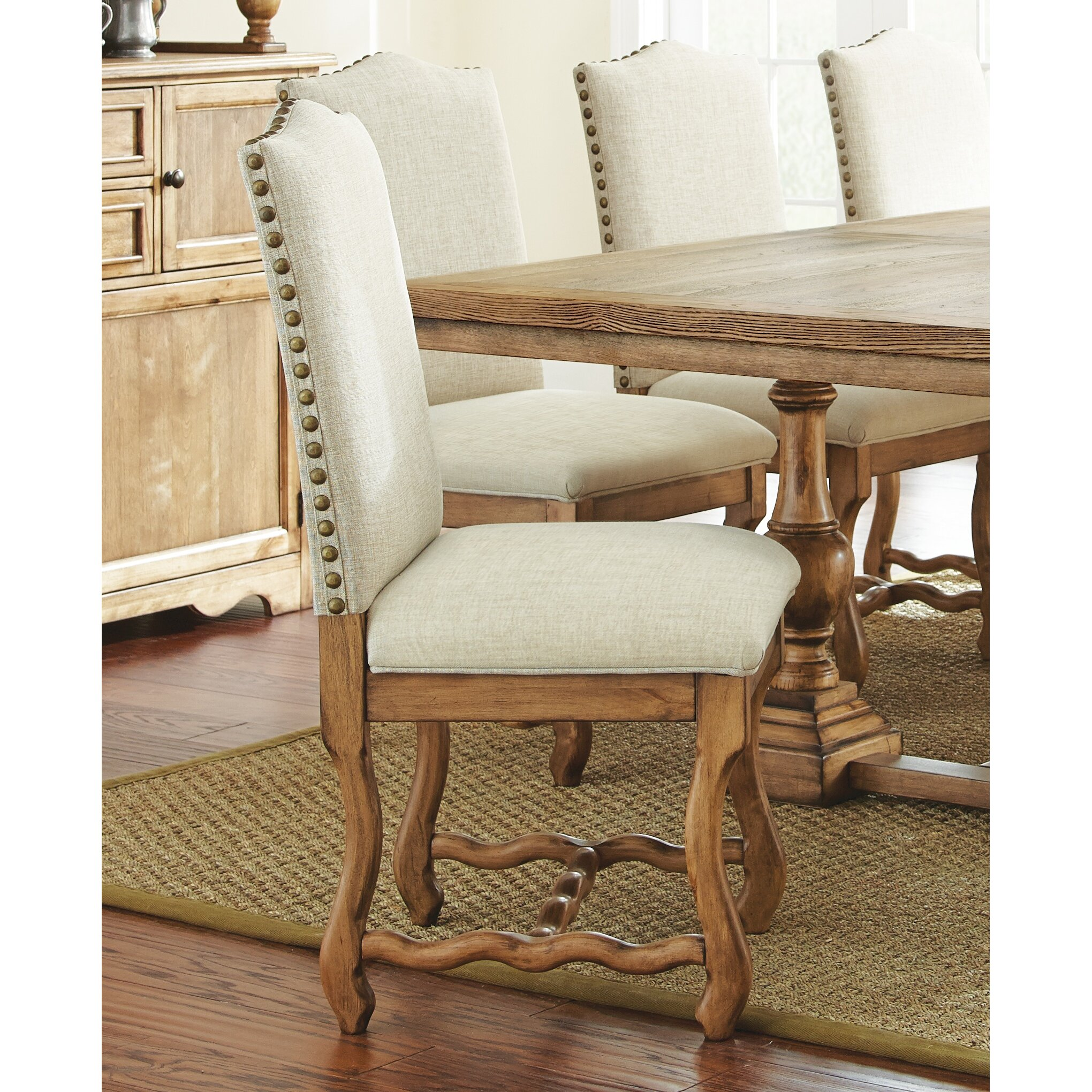 Steve Silver Furniture Plymouth Side Chair Reviews Wayfair