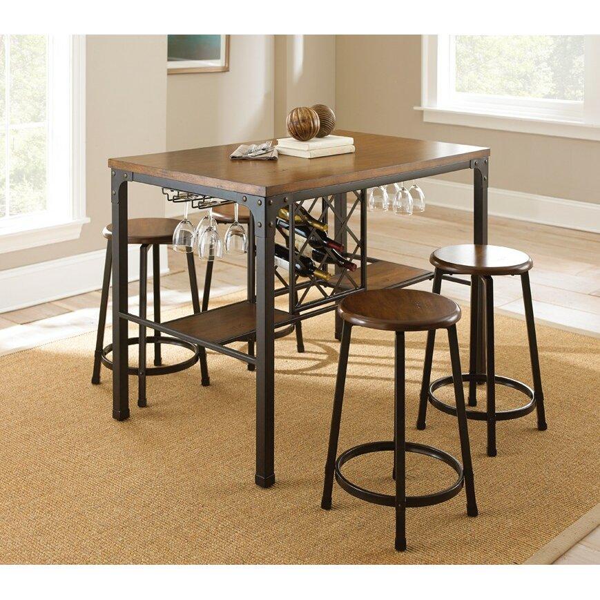 Trent Austin Design Rockwood Counter Height Pub Table Set