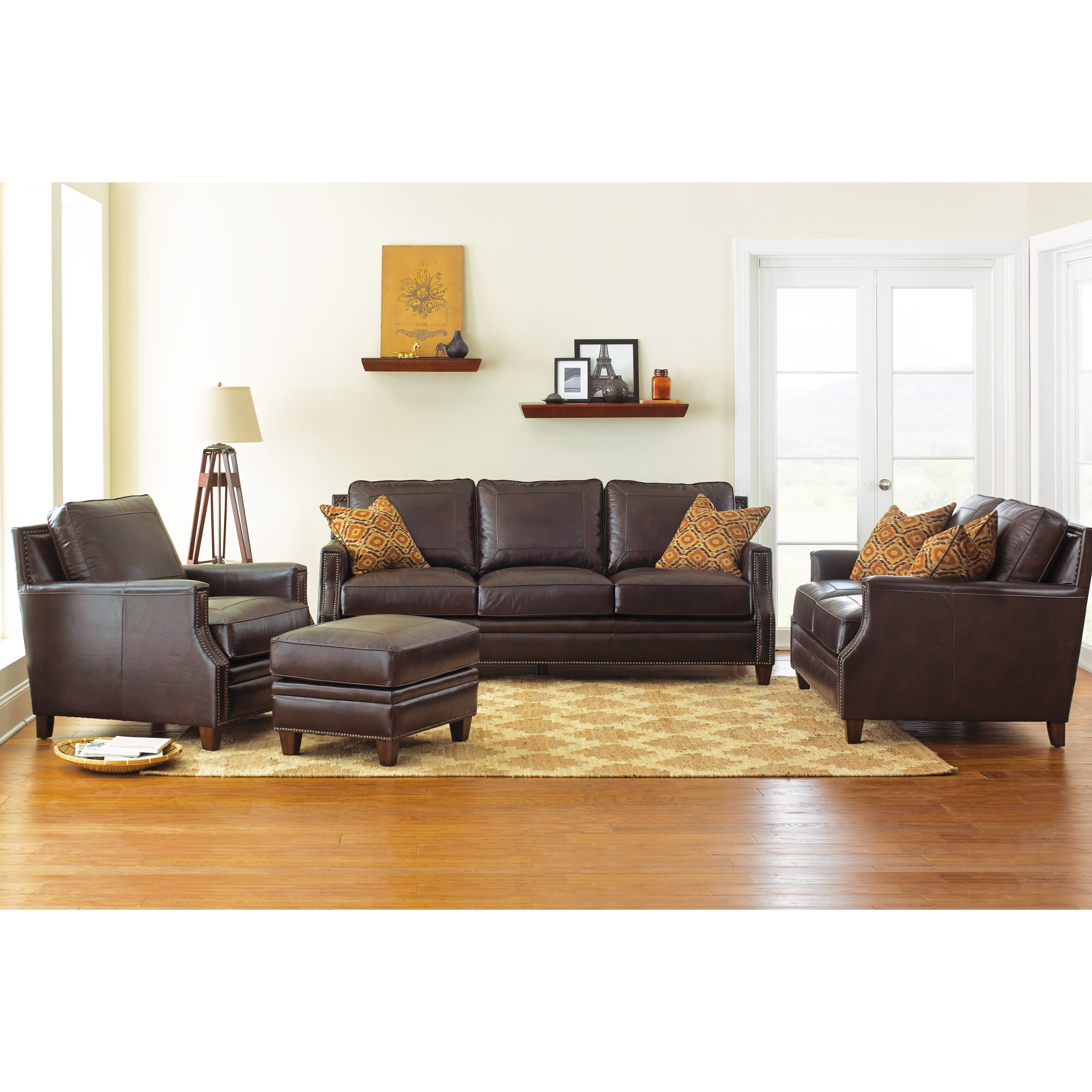 Darby home co gravely 4 piece living room set wayfair for 4 piece living room set