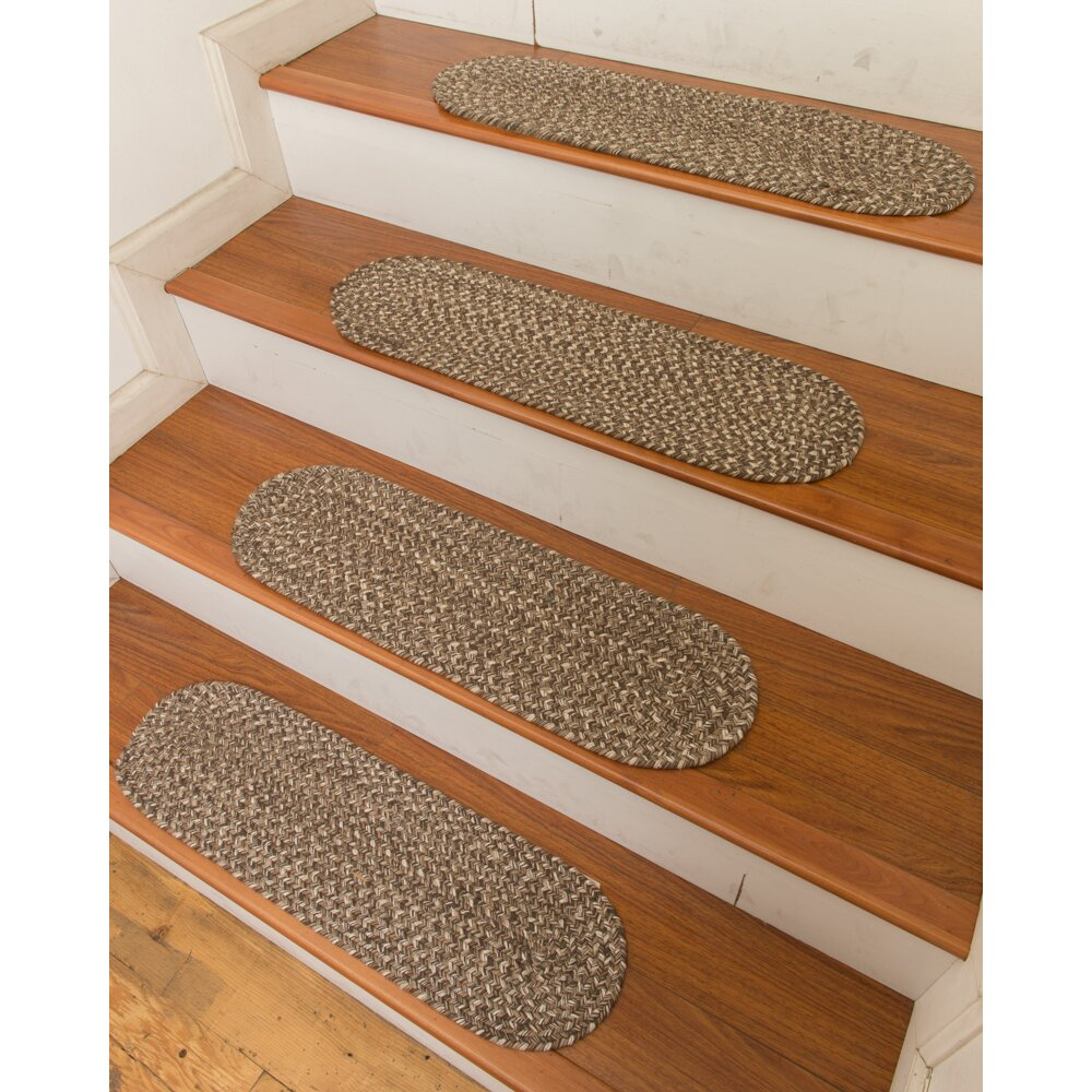 Natural Area Rugs Gardenia Stair Tread Reviews Wayfair