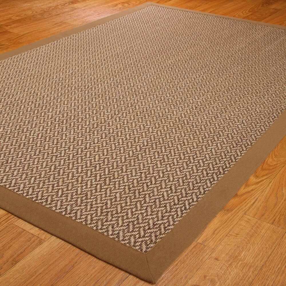 Natural Area Rugs India Brown/Beige Area Rug