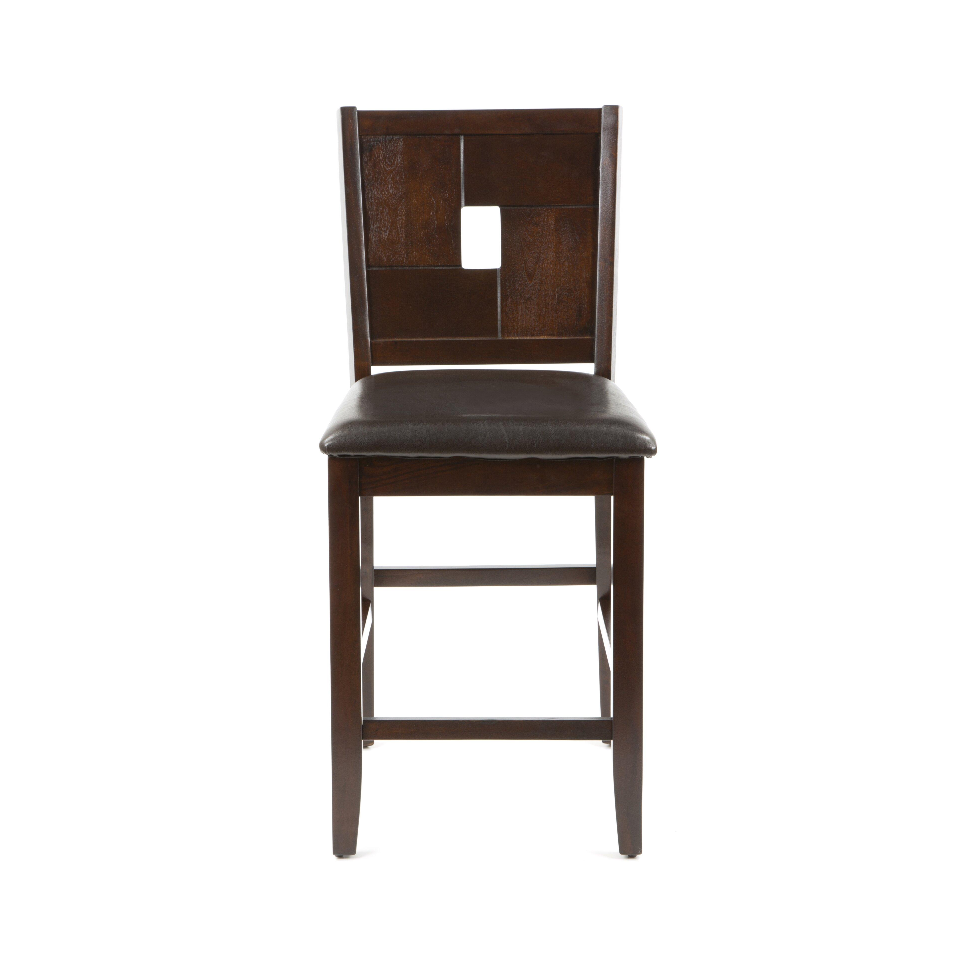 Alpine Furniture Lakeport 25 5 Bar Stool Reviews Wayfair