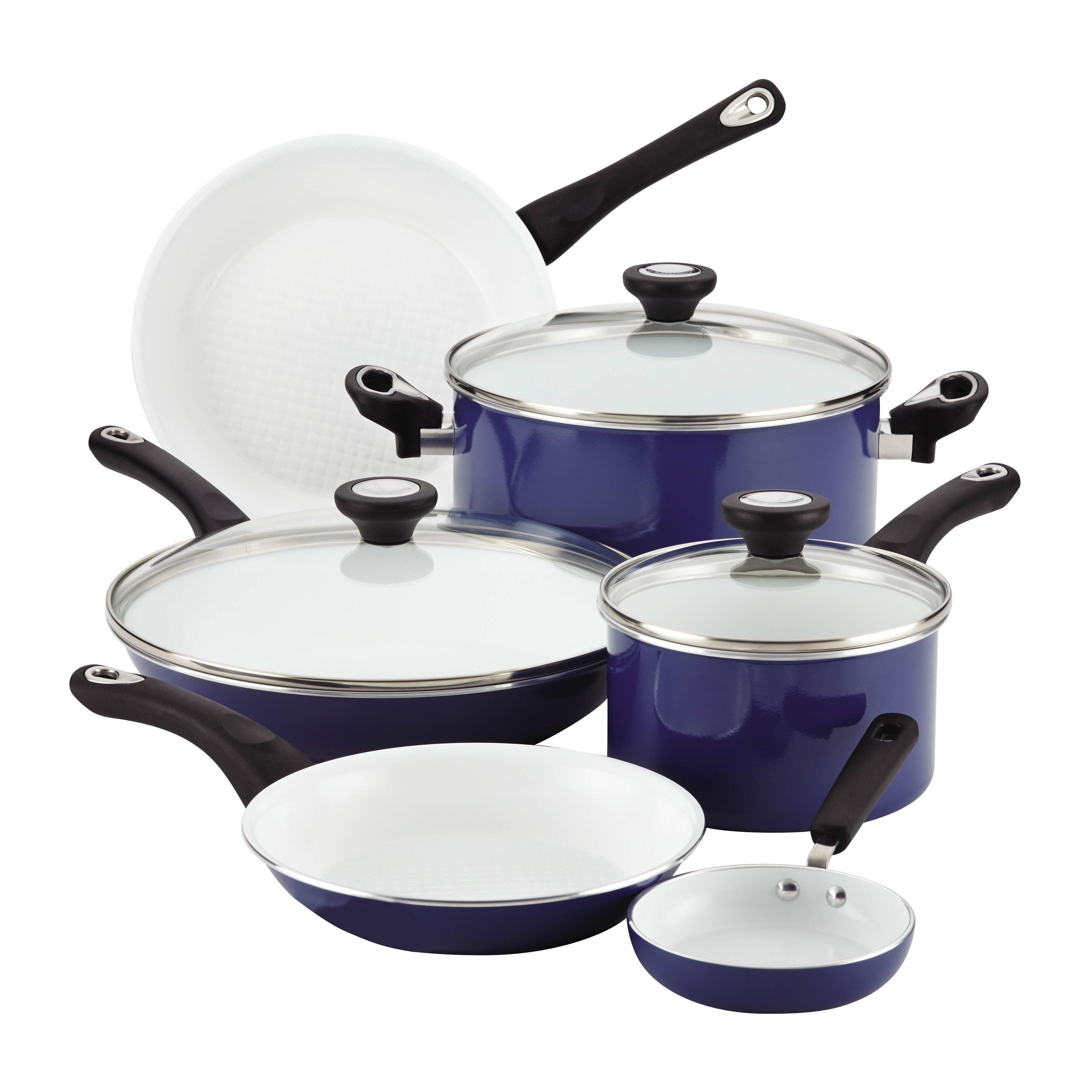 Farberware Purecook Ceramic Nonstick Cookware 12 Piece ...