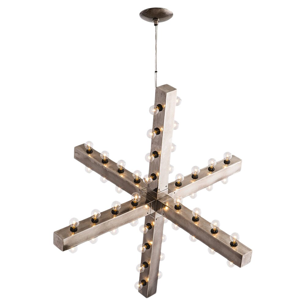 arteriors home harding 48 light sputnik chandelier wayfair
