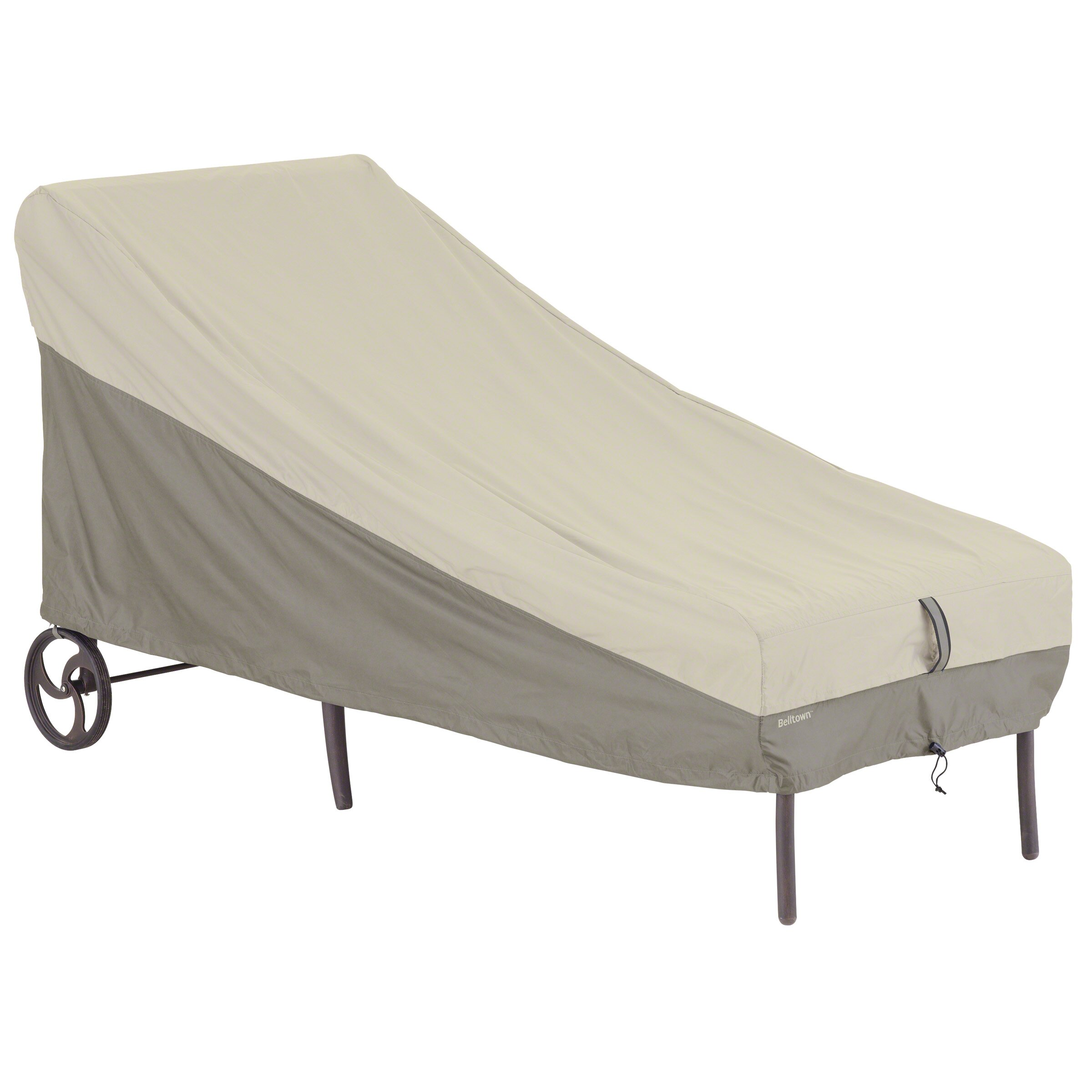 Classic accessories belltown chaise cover reviews for Chaise lounge accessories