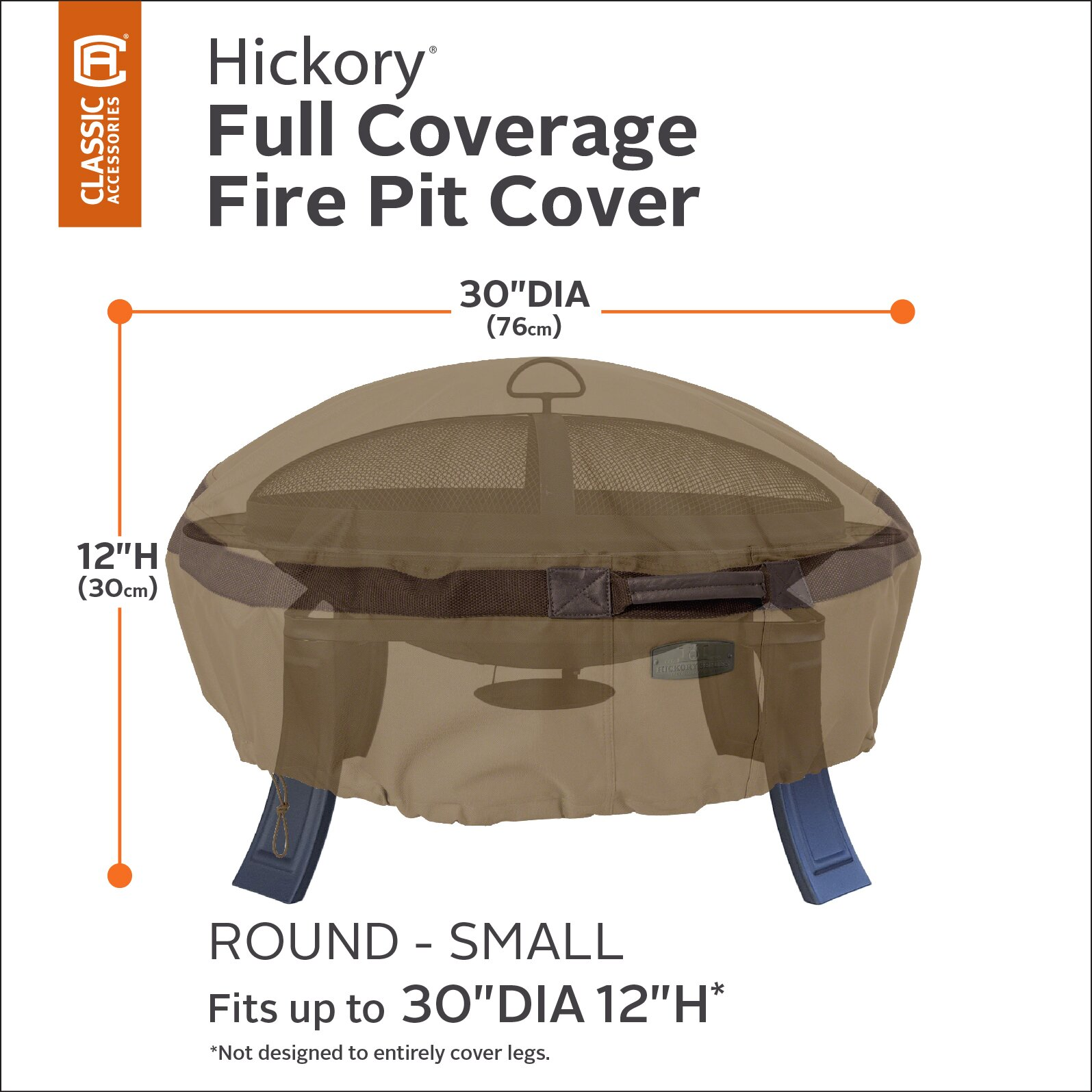 Classic Accessories Hickory Fire Pit Cover | Wayfair