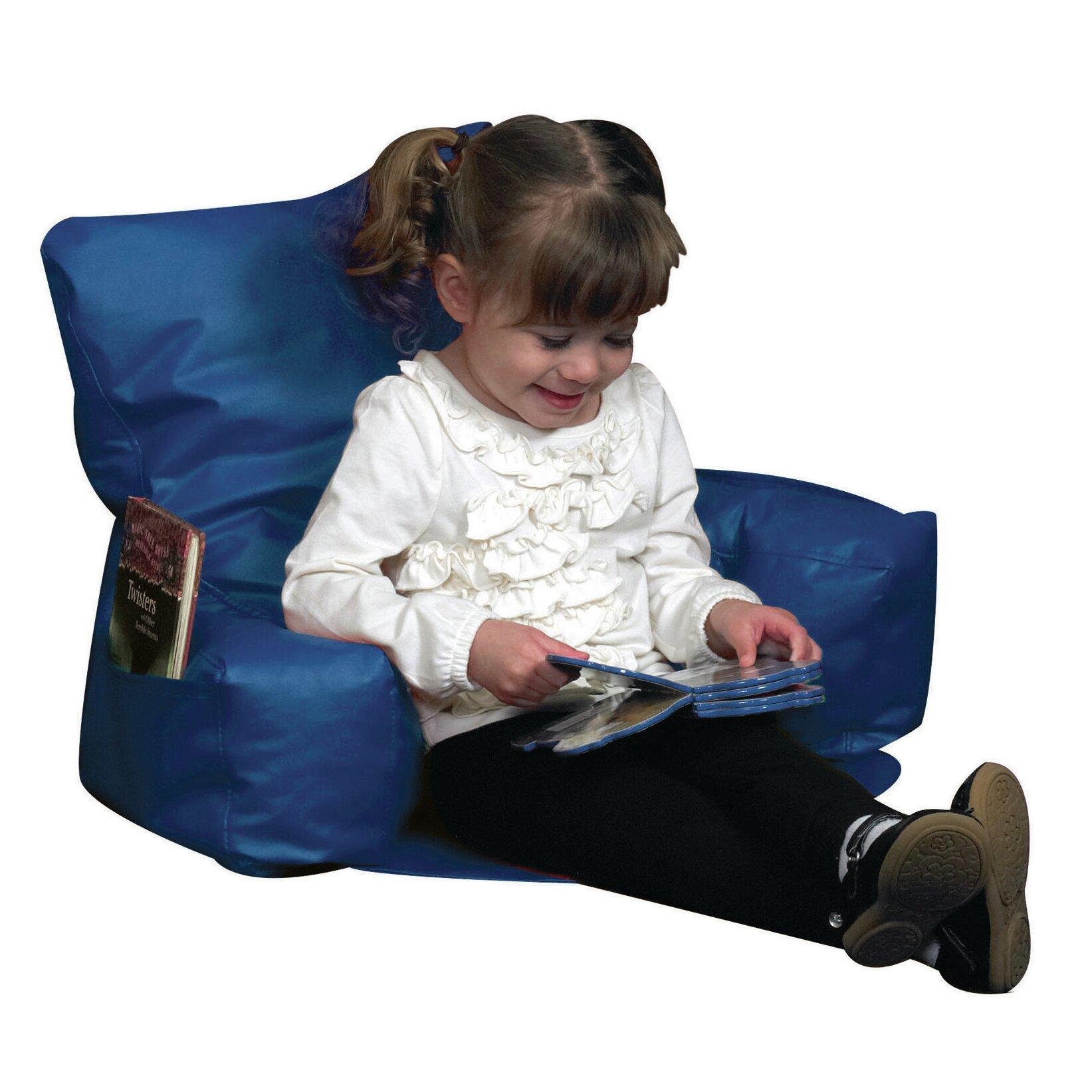 Children 39 s factory kids reading chair wayfair for Toddler reading chair