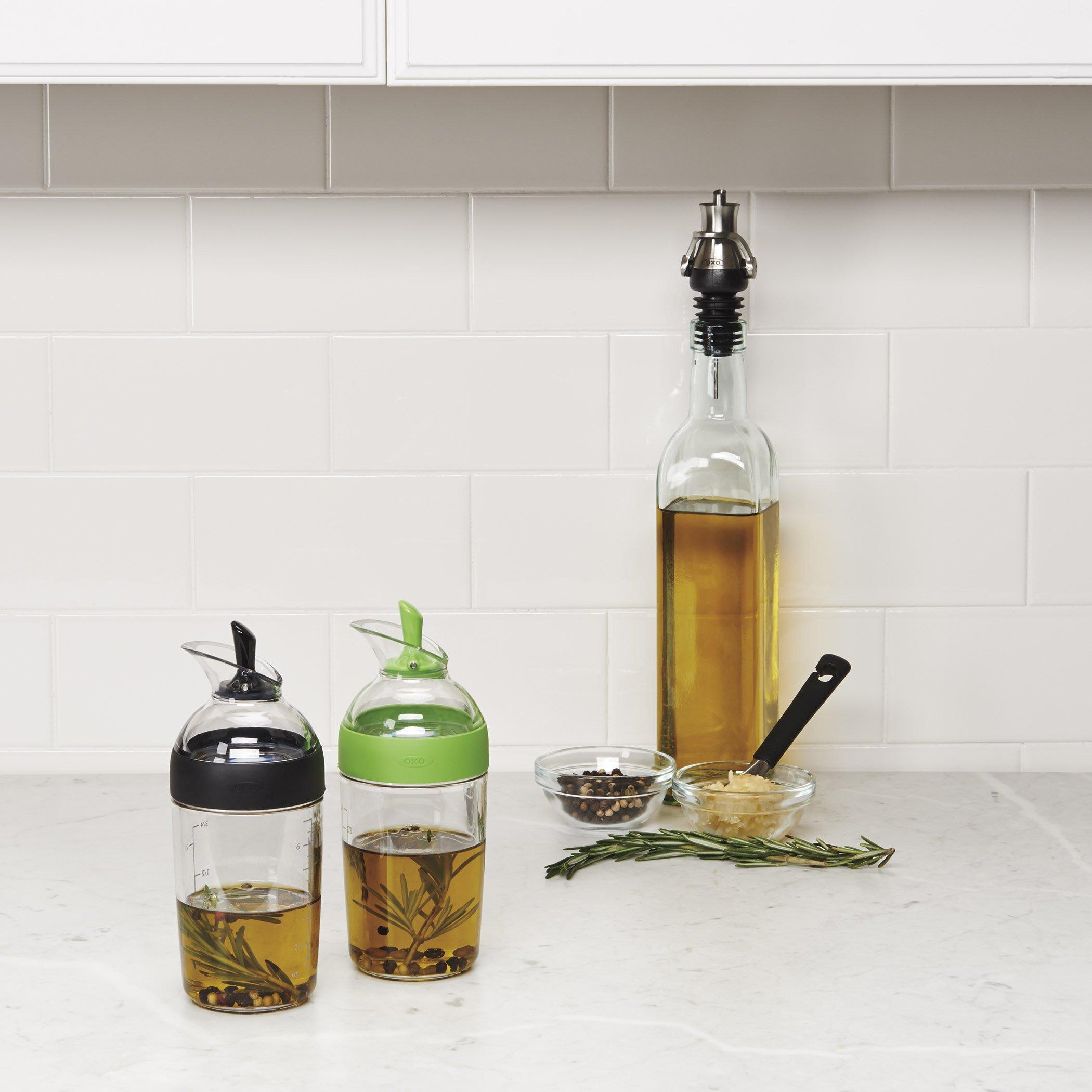 oxo good grips little salad dressing shaker green reviews wayfair. Black Bedroom Furniture Sets. Home Design Ideas