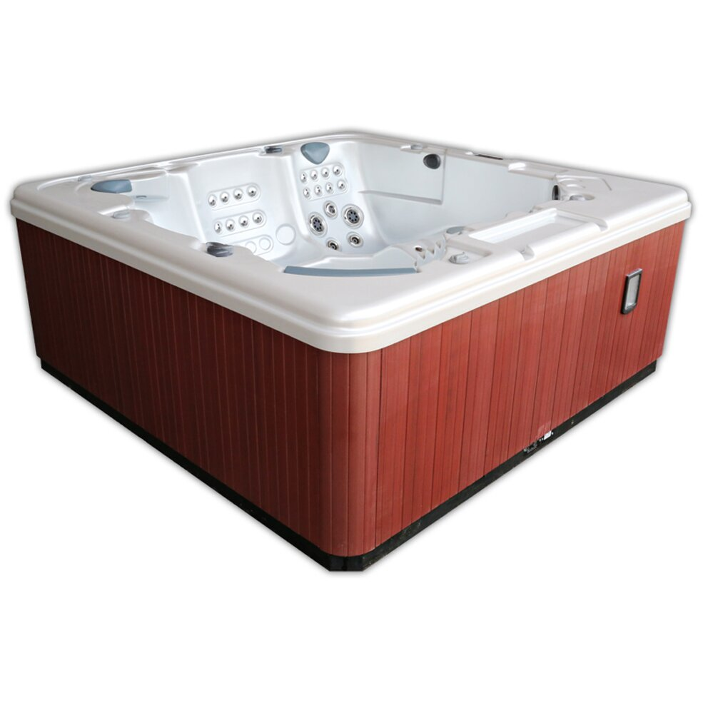 Home And Garden Spas 5 Person 106 Jet Hot Tub With Mp3