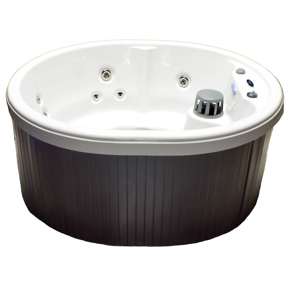 Home And Garden Spas 5 Person 14 Jet Oval Spa With