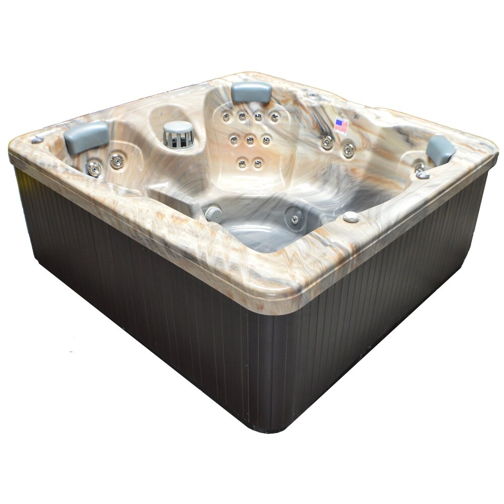 Home And Garden Spas 5 Person 30 Jet Spa With Waterfall