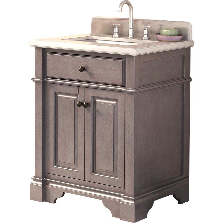 "Lanza Casanova 28"" Single Bathroom Vanity & Reviews   Wayfair"