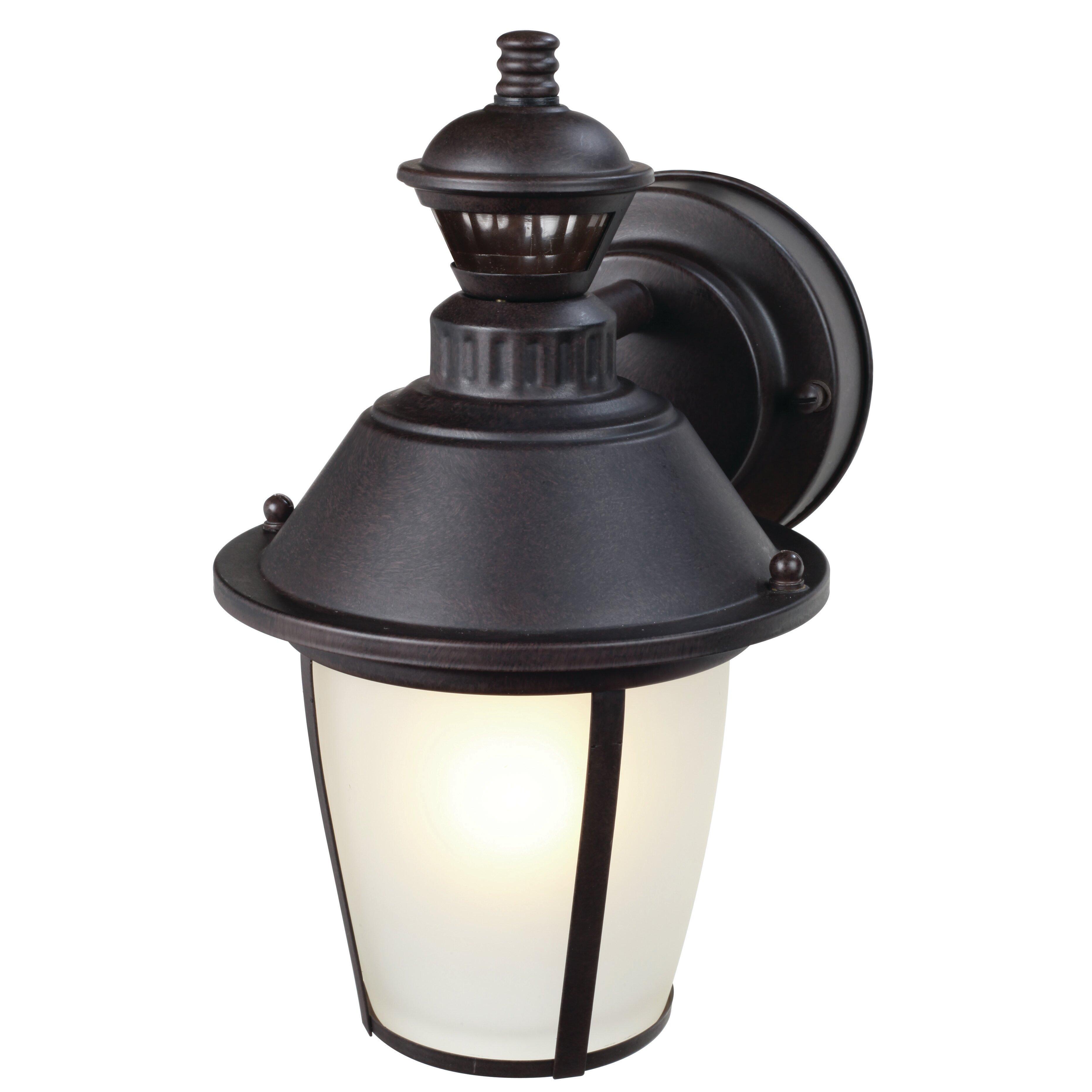 Heath zenith 1 light outdoor wall lantern wayfair for Zenith garden rooms