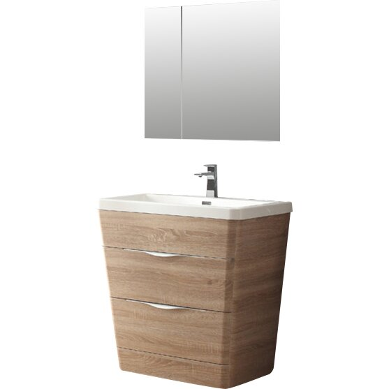Fresca Milano 31 5 Single Sink Modern Bathroom Vanity Set