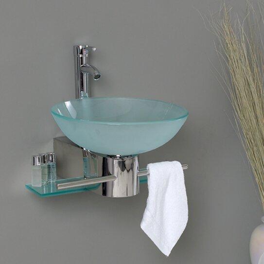 Fresca Vetro 18 Single Cristallino Modern Bathroom Vanity