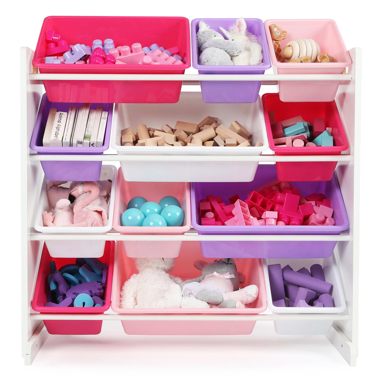 tot tutors kid toy storage organizer reviews wayfair. Black Bedroom Furniture Sets. Home Design Ideas