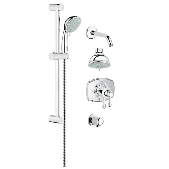 Grohe GrohFlex Pressure Balance Tub And Shower Faucet Reviews Wayfair
