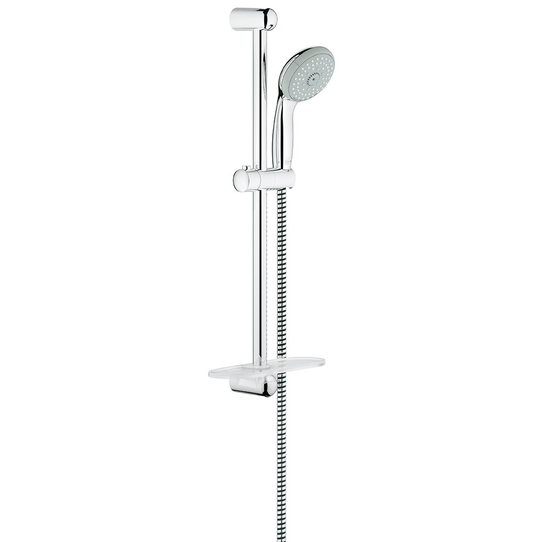 grohe tempesta tub and shower faucet reviews wayfair. Black Bedroom Furniture Sets. Home Design Ideas